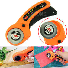 45mm Rotary Cutter Sewing Craft Quilting Fabric Leather Paper Plastic Cutting YS