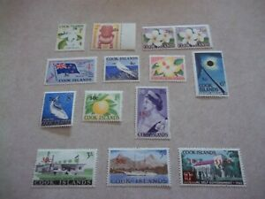 COOK ISLANDS: 1967 Decimal Currency Surcharges set of 15 SG 205/18 (£65+), MUH.