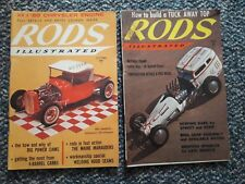 2 - Vintage Rods Illustrated Magazine April &  October 1958 Back Issues
