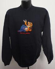 Winnie The Pooh Large Crewneck Sweatshirt Pullover Disney Vintage Retro Tigger
