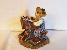 New ListingBoyds Bears Amy B. Bearsdale Is It Lunchtime Yet? Schoolgirl At Desk Bearstone