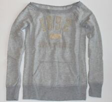 NWT! ABERCROMBIE KIDS Relaxed Neckline Sweatshirt Girls XL or Womens XS/S