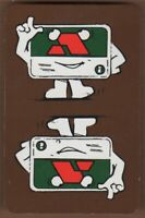 Playing Cards Single Card Old ACCESS CREDIT CARD Advertising Art Design Banking