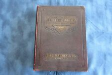 Outstanding 1925 C&E Marshall Co., Chicago, Jewelers' Supplies Catalog, 1022 pgs
