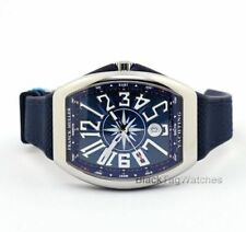 Franck Muller Vanguard Automatic V41 SC DT YACHTING AC BL Mens Wristwatch