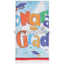 Graduation Party - 3 x Plastic Tablecover 213cm - Free Postage in UK