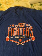 Foo Fighters - Citifield Concert Tour Shirt Xxl  7/15/15 NY Mets
