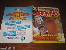 RIVISTA ROMBO 1986/38=NIKI LAUDA=AUDI 80=OPEL OMEGA=KAWASAKI RX/GTR=