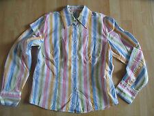 JACQUES BRITT schöne bunt gestreifte Bluse Gr. 38   BE3