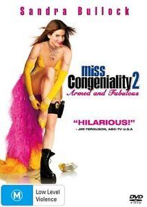 Miss Congeniality 2  : Sandra Bullock : New Old Aus Stock : NEW DVD