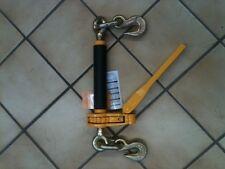 5/16 X 3/8, PAIR RATCHET BINDER 7100 LB WLL LOCKING DESIGN CHAIN TIE DOWN AXLE