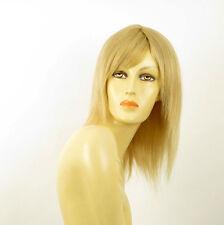perruque femme 100% cheveux naturel longue blonde ref MARIA  22
