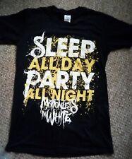 ladies unisex Motionless in white t-shirt goth alternative sz S