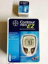 Bayer Contour Next EZ Blood Glucose 50 Test Strips Plus Meter Exp: 11/2018