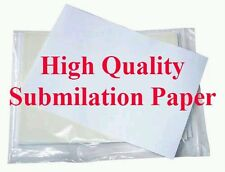 100 A3 High Release Dye Sublimation Paper For Epson Sublimation Ink 100gsm