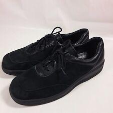 Women's Volks Walkers Casual Shoes Comfort Oxford Black Leather-EU 40-US 9/9.5