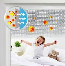 Pollenschutzgitter anthrazit 1,3m x 1,5m  inkl. Klettband & Montagewerkzeug