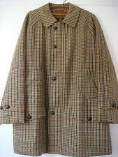 Original English Grenfell Woollen Tweed Coat Overcoat