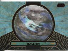 Star Wars Galactic Files 2 Red Parallel Base Card #690 Ralltiir