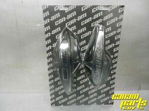Can-Am Outlander Renegade Black Handlebar Wind Deflector Pair 715001706