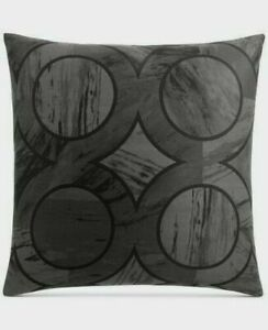 Hotel Collection Marble Geo 100% Pima Cotton Pillow Sham PAIR - EURO
