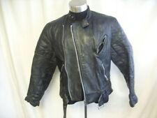 Unbranded Men's Biker Hip Length Zip Coats & Jackets
