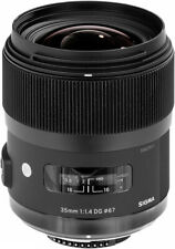 Sigma 35mm f/1.4 DG HSM Art Lens for Canon DSLR Cameras - 340101