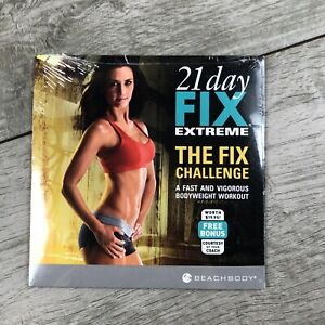 Beachbody 21 Day Fix EXTREME - The Fix Challenge Workout DVD (DVD, 2015) SEALED