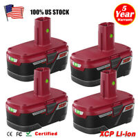 4X FOR CRAFTSMAN C3 19.2V XCP Lithium Ion Diehard Battery 11375 PP2025 Cordless
