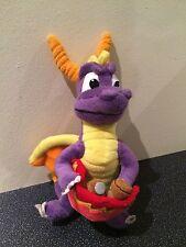 "RARO UNIVERSAL STUDIOS Skateboard Spyro Dragon Morbido Peluche Giocattolo circa 10"" ""Tall"