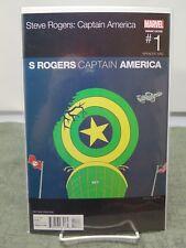 Steve Rogers Captain America #1 Variant Hip Hop 2nd Print Marvel vf/nm CB1728