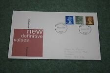 Post office First Day Cover - Definitives August 1979. Derby FDI Cancellation