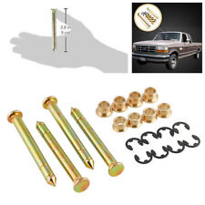 Durable Car Door Hinge Pins Pin Bushing Kit Fit For Ford F150 F250 F350 Bronco