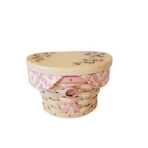 Longaberger Breast Cancer Horizon of Hope Basket With Lid Liner Protector 2007