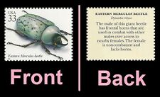 US 3351l Insects & Spiders Eastern Hercules Beetle 33c single MNH 1999