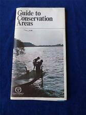 GUIDE TO CONSERVATION AREAS MAP VINTAGE MINISTRY OF NATURAL RESOURCES CANADA