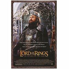"2003 Lord of the Rings (VERY RARE) - Aragorn - 27"" x 40"" -  * (SS) *- LR024"