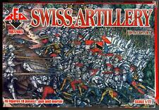 Red Box Models 1/72 SWISS ARTILLERY 16th Century Figure Set
