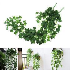 Artificial Ivy Leaf Garland Plants Fake Vine Plant Garden Home Decoration
