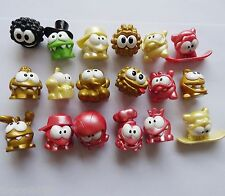 #sd3~ LOT OF 8 Cut The Rope Om Nom Nommies Random Different figure