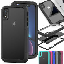 For iPhone 12 11 Pro Xs Max 8 7 6 Plus SE Case Heavy Duty Rubber 360 Phone Cover