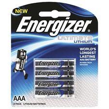 AAA Energiser Ultimate Lithium 4 Pack