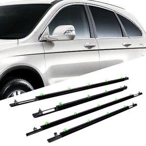 Outer Window Moulding Trim Weatherstrip Seal Belt For Honda CR-V CRV 2007-2011