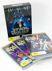 Star Wars Trilogy Limited Edition (IV V VI) 6 Disc Box Set EC