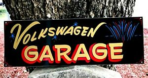 Vintage PERSONALIZED Garage NAME SIGN Painted HOT RAT ROD SHOP Car Pinstriped