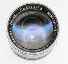 Nikkor 5cm f1.4 Leica SM #328073