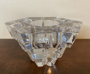 """REED BARTON MILLER ROGASKA """"Brilliance"""" Crystal Votive Candle Tea Light Holder"""