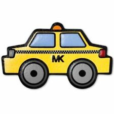 💕 Michael Kors Yellow and Black Taxi Lux Leather Bag Sticker Brand New