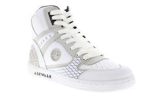 Airwalk Prototype 600 AW00226-100 Mens White Skate Inspired Sneakers Shoes