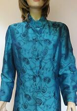 Shanghai Tang Reversible Long Jacket Dress